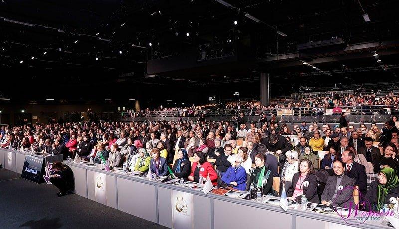کنفرانس روز جهانی زن – پاریس، ۲۰۱۸