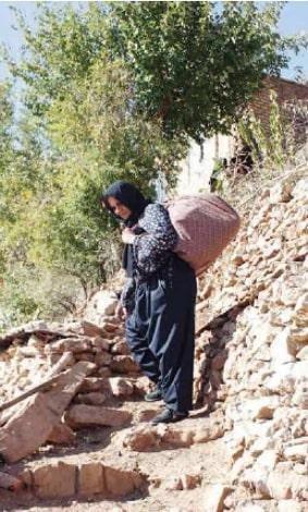 زنان کولبر در استانهای مرزی
