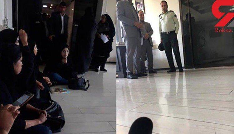 پرستاران دانشگاه علوم پزشکی مشهد و بیمارستان کرج در میان معترضان