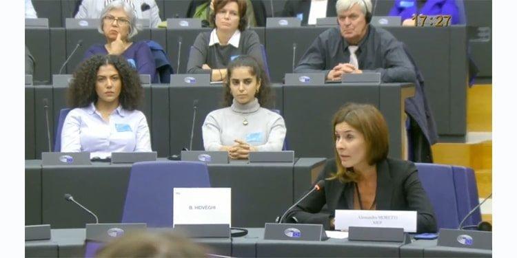 الساندرا مورتی، نماینده پارلمان اروپا از ایتالیا