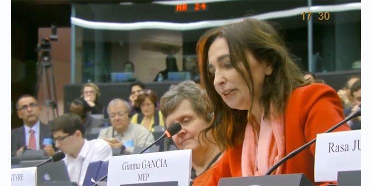 جیانا گانچیا، نماینده پارلمان اروپا از ایتالیا