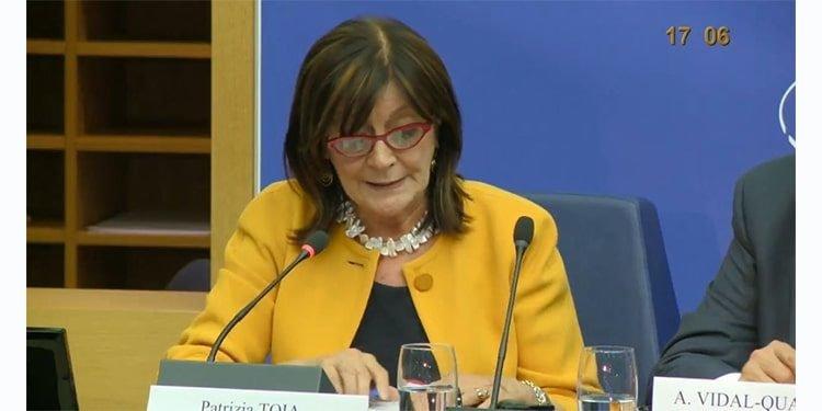 پاتریزیا تویا، نماینده پارلمان اروپا از ایتالیا