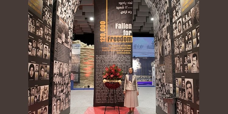 ۳۰مهر سالگرد انتخاب خانم مریم رجوی به عنوان رئیس جمهور برگزیده شورای ملی مقاومت ایران