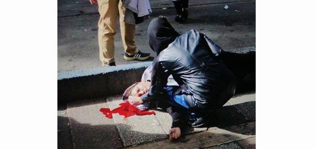تصویر خانمی که در شهریار به وسیله تک تیرانداز از ناحیه سر هدف قرار گرفته بود، متعلق به خانم گلناز صمصامی بوده است که نام او نیز قبلاً در فهرست شهیدان قیام اعلام شده بود