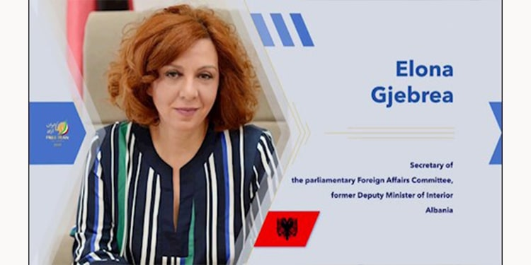 برخی از برجسته ترین زنان آلبانی و آمریکا در گردهمایی جهانی ایران آزاد