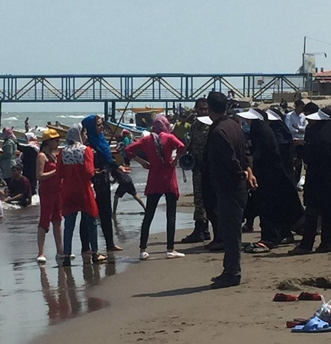 سایه وحشت سرکوب نیروی انتظامی بر تفریحات تابستانی مردم