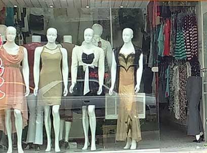 حمله به تولید کنندگان و مزون های عرضه پوشاک
