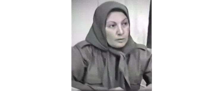 فرشته اخلاقی از اعضای باسابقه واحد تحقیق شهیدان مقاومت ایران