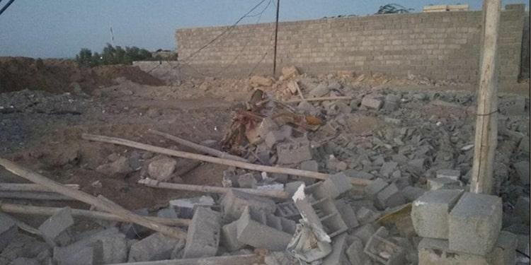 زنان محروم چابهار به تخریب سنگدلانه خانه هایشان اعتراض می کنند