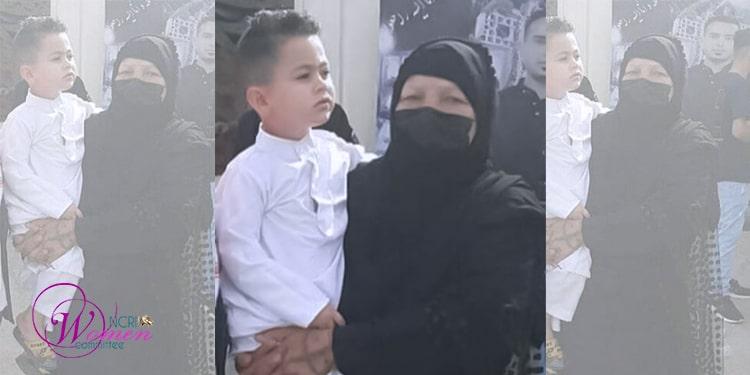 خانم بدریه حمیداوی در تاریخ ۲۶ اردیبهشت دستگیر شد