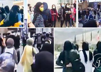 هزاران تن از دانش آموزان ایران علیه امتحانات حضوری دست به اعتراض زدند