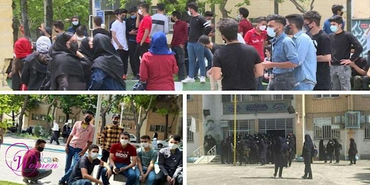 اعتراضات زنان ایران در اقشار مختلف