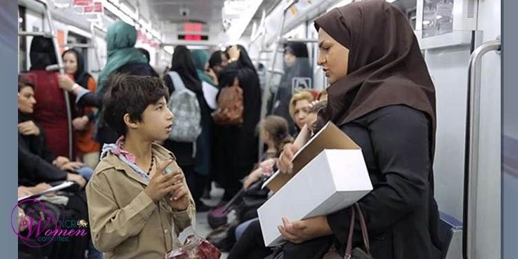 زنان دستفروش متروی تهران قربانی آزار و اذیت مأموران شهرداری!