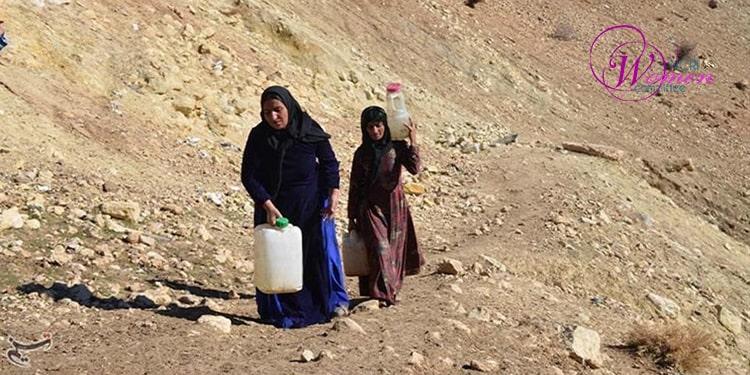 فقدان آب آشامیدنی و تأثیرات آن بر سلامتی زنان و کودکان
