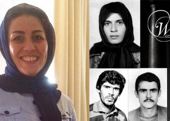 مریم اکبری منفرد - اعلام همبستگی با خوزستان از پشت میله های زندان
