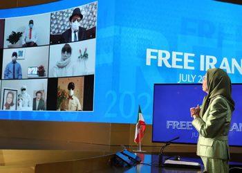 گردهمایی جهانی ایران آزاد ۲۰۲۱ – تماس اعضای کانون های شورشی از داخل ایران
