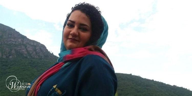 زندانی سیاسی آتنا دائمی که به زندان لاکان رشت تبعید شده است
