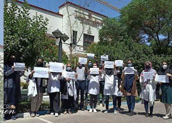 اعتراضات پزشکان در تهران و ۷شهر دیگر علیه شرایط طاقت فرسای کاری