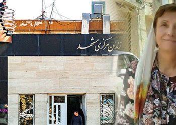 معلم زندانی نصرت بهشتی در زندان وکیل آباد مشهد دست به اعتصاب غذا زد