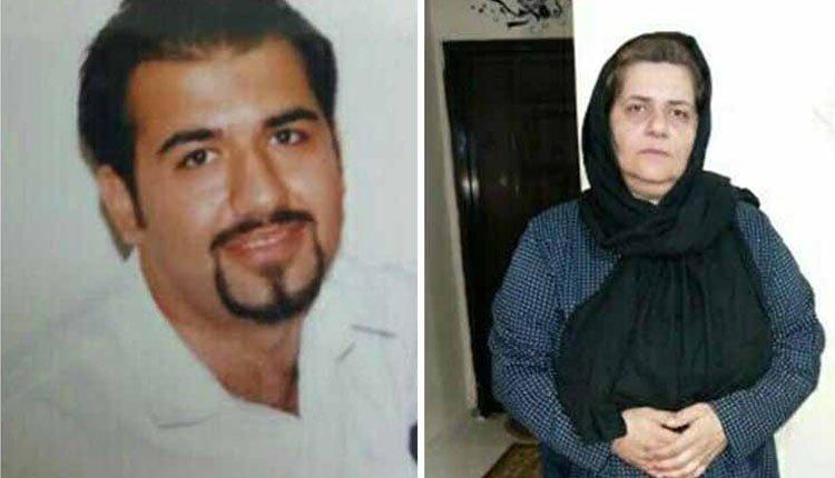 Faranguisse Mazloumi, mère d'un détenu politique, arrêté en Iran