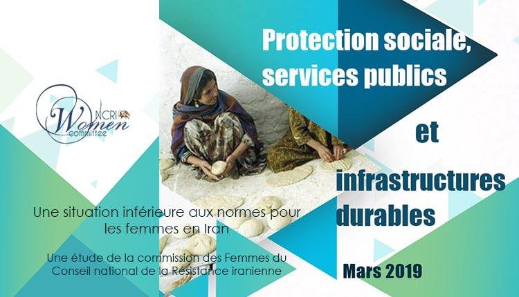 Protection sociale, services publics et infrastructures durables