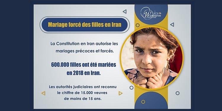 Les mariages précoces et forcés sont des violences contre des fillettes iraniennes