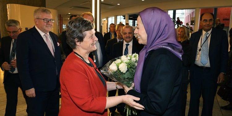 De nombreux membres du Parlement européen soutiennent Maryam Radjavi