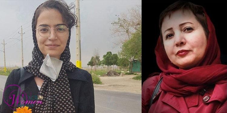 Des militantes en prison en Iran : Aliyeh Motallebzadeh et Ashraf Nafariyeh