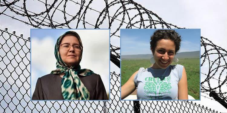 La militante écologiste Niloufar Bayani, emprisonnée à Evine