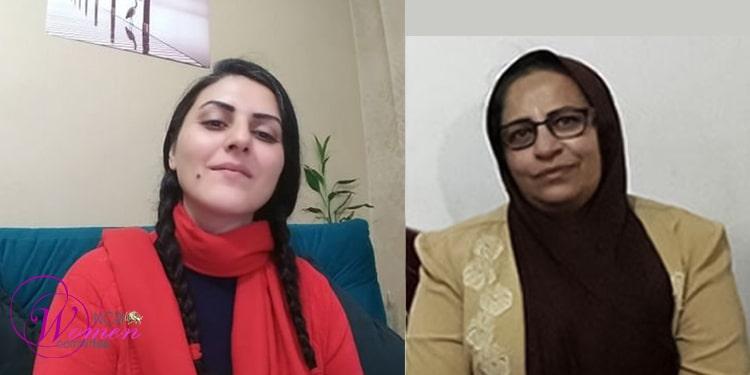 Zahra Safa'i et Golrokh Iraee agressées à Qarchak et menacées de mort