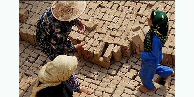 Les travailleurs des briqueteries