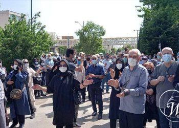 Les retraités iraniens entament un nouveau cycle de manifestations nationales.