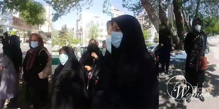 Les retraités et les pensionnés iraniens ont tenu leurs rassemblements