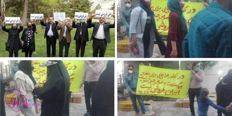 Des femmes brutalisées au 3e jour des manifestations contre le contrat anti-iranien