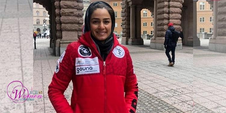 Samira Zargari, la coach principale de l'équipe nationale de ski alpin, n'a pas pu se rendre en Italie avec son équipe en raison de l'objection de son mari