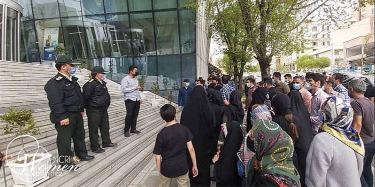 Les retraités et les pensionnés iraniens ont également organisé des manifestations à Karaj,