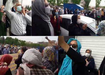 Les femmes participent aux manifestations nationales des retraités et pensionnés