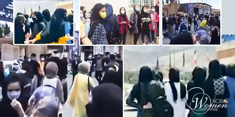 Des milliers d'étudiants iraniens protestent contre les examens en personne