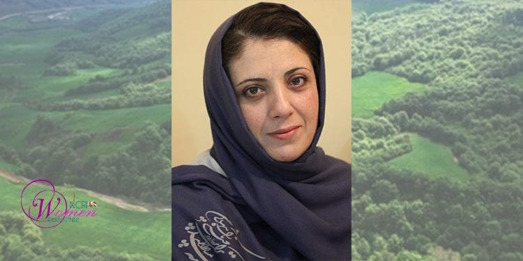 La journaliste écologiste Elaheh Mousavi1