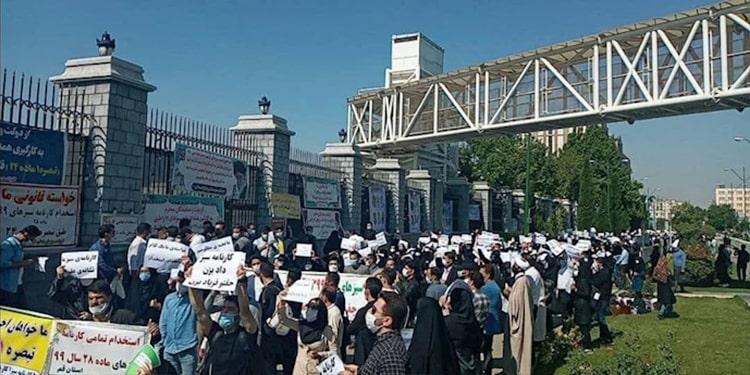 Les étudiants iraniens