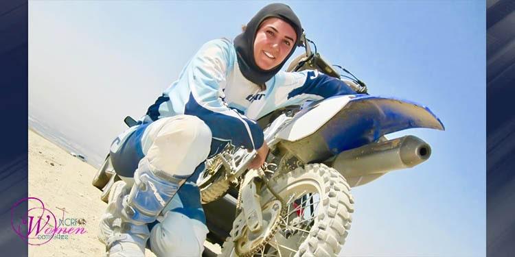 Iranian motocross champion