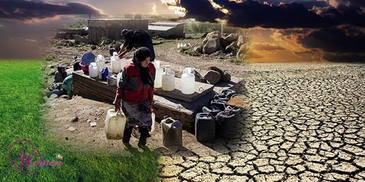 L'environnement en Iran détruit et massacré par les mollahs misogynes