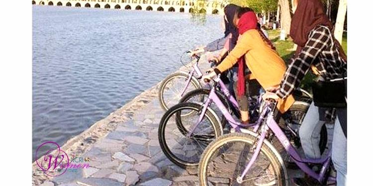 Les cyclistes interdites à Ispahan