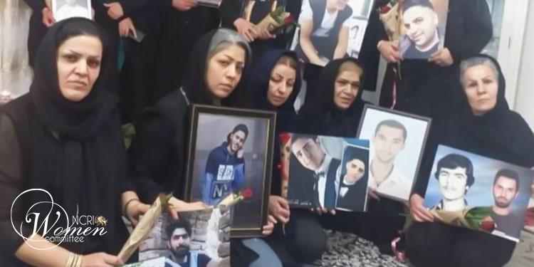 Les mères des martyrs de novembre 2019
