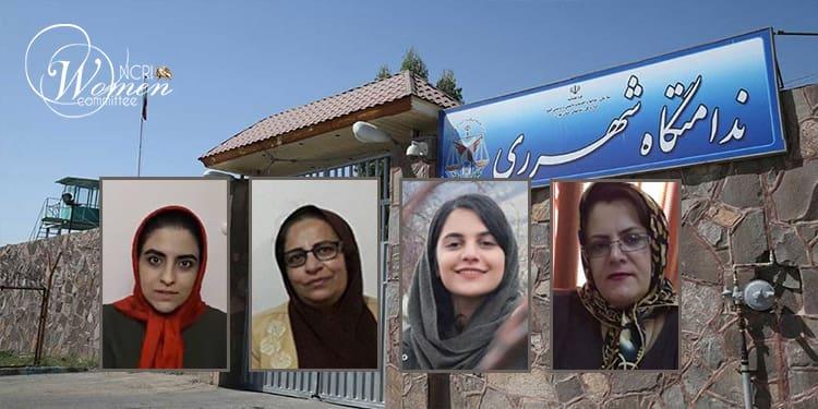Quatre prisonnières politiques