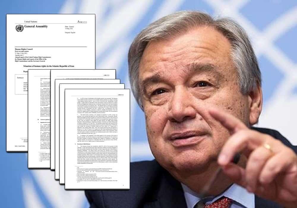 Antonio Guterres – Appel à l'abolition de la peine de mort, signature de la CEDAW.