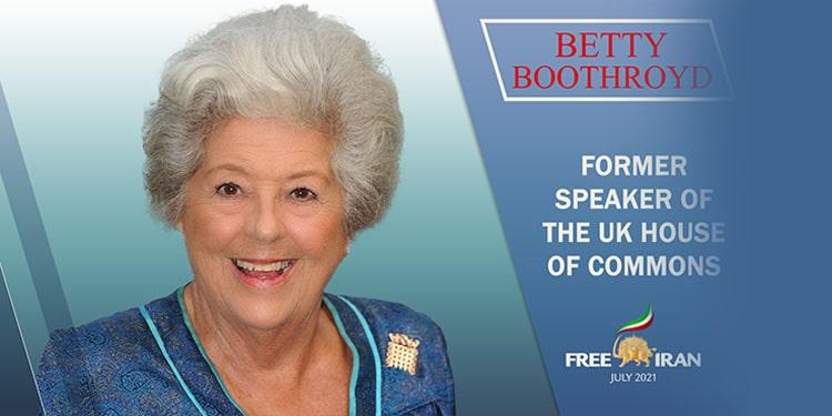 Baroness Betty Boothroyd