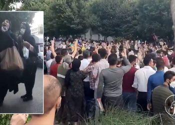 Les femmes jouent un rôle de premier plan dans les manifestations à Tabriz en soutien au Khouzistan