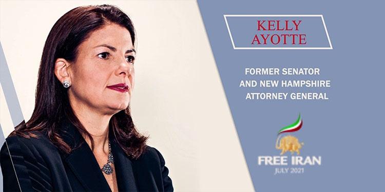 La sénatrice américaine Kelly Ayotte (Républicaine)