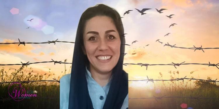 La prisonnière politique Maryam Akbari Monfared